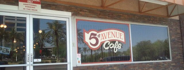 5th Avenue Cafe is one of PHX Bfast/Brunch in The Valley.
