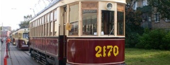 Трамвай № 39 is one of สถานที่ที่บันทึกไว้ของ Alina.