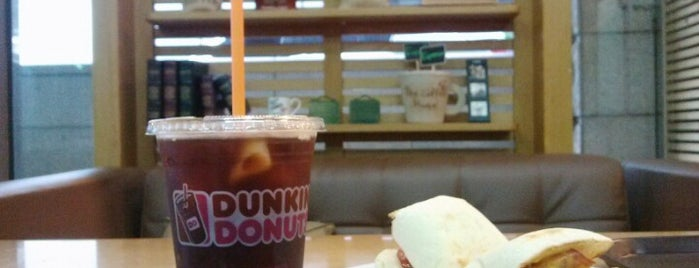 DUNKIN' DONUTS is one of Andy : понравившиеся места.