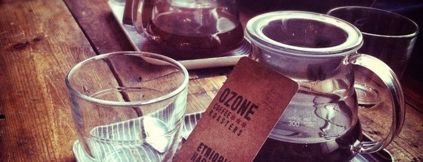 Ozone Coffee Roasters is one of Favorite Cafés.