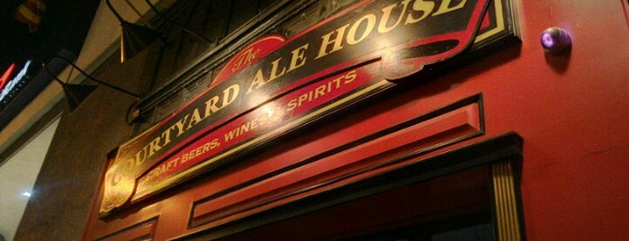 The Courtyard Ale House is one of NYC Craft Beer Week 2011.