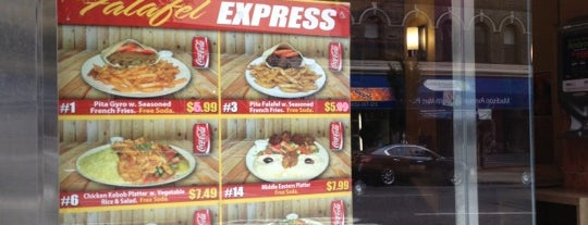 Falafel Express is one of Restaurants I've been to.