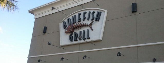 Bonefish Grill is one of dinner recommendations.