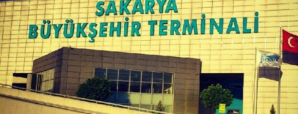 Sakarya Büyükşehir Terminali is one of Sakaryanın Kıyısı Köşesi.