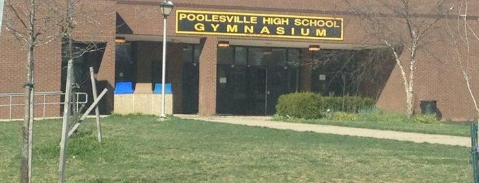 Poolesville High School is one of Posti salvati di Lynn.