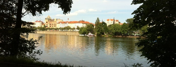 Střelecký ostrov is one of StorefrontSticker #4sqCities: Prague.