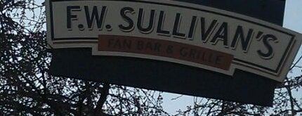 F.W. Sullivan's Fan Bar & Grille is one of Restaurants & Bars To Go Back To.