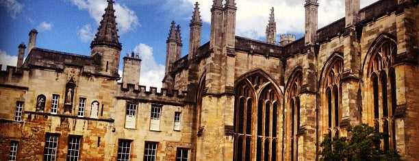 New College is one of London Favorites.