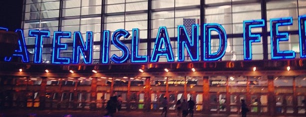 Staten Island Ferry - Whitehall Terminal is one of Tempat yang Disimpan Adam.