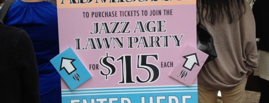 Jazz Age Lawn Party is one of บันทึกเดินทาง New York.