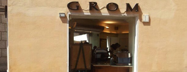 Grom is one of Ice-cream & sweets world.