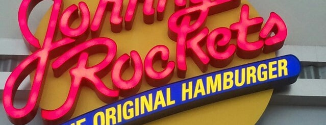 Johnny Rockets is one of Lugares favoritos de Cristina.