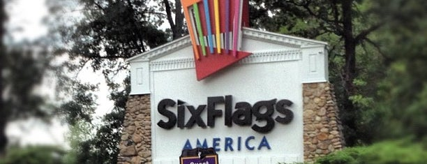 Six Flags America is one of Six Flags.