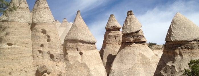 Kasha-Katuwe Tent Rocks National Monument is one of new mexico.