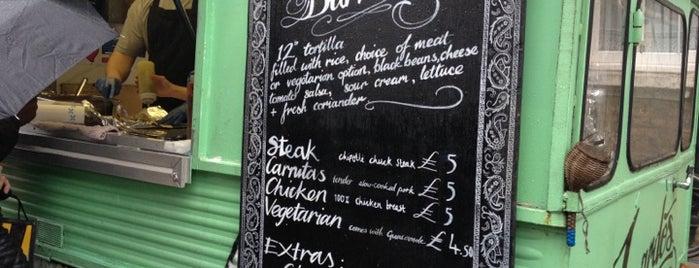 Luardos is one of London Markets & Food Stalls.