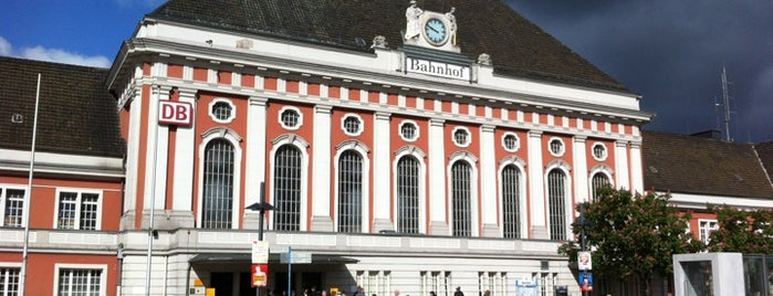 Bahnhof Hamm (Westfalen) is one of Lugares favoritos de Peter.