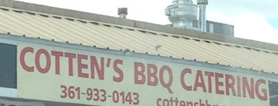 Cottens BBQ is one of Corpus Christi.