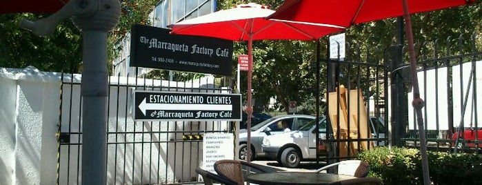 The Marraqueta Factory Café is one of Café Pendiente Chile.