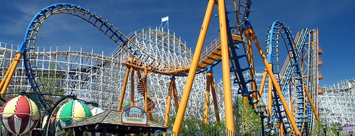 Six Flags Astroworld is one of Theme Parks I've Visited.
