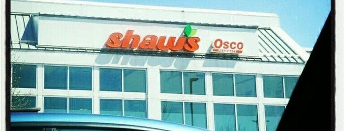 Shaw's is one of Tempat yang Disukai Kelsey.