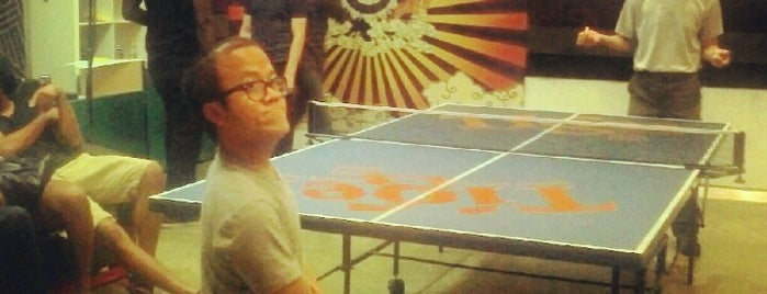 Pips Table Tennis & Art Space is one of Places to Enjoy a Tiger Beer!.