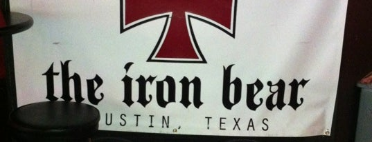 The Iron Bear is one of My Home Bars.