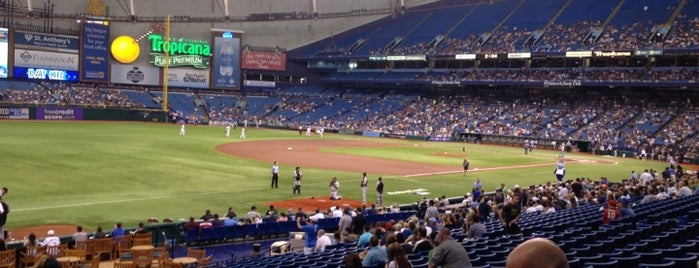 Tropicana Field is one of All Things Sporting Venues....