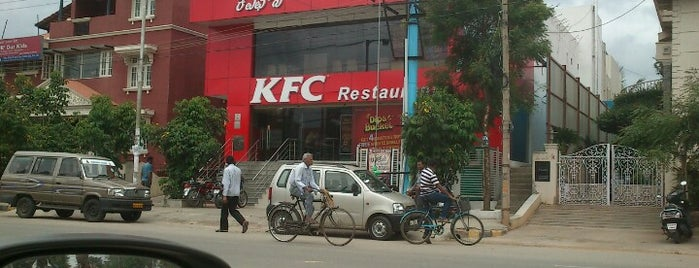 KFC is one of Burgers in Bengaluru.