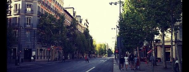 Calle de Serrano is one of Madrid.