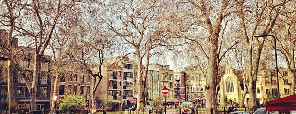 Hoxton Square is one of Must-visit Great Outdoors in London.