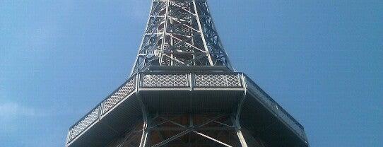 Petřínská rozhledna | Petřín Lookout Tower is one of StorefrontSticker #4sqCities: Prague.