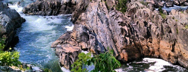 Great Falls Park is one of America's Top Hiking Trail in Each State.