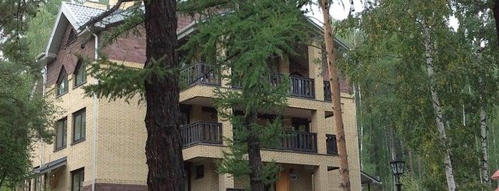 Дом отдыха «Абзаково» is one of สถานที่ที่ Айсик ถูกใจ.