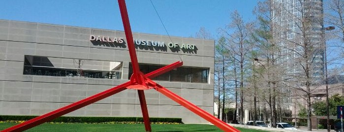 Dallas Museum of Art is one of Locais salvos de George.