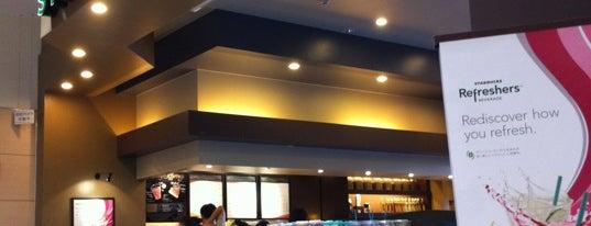 Starbucks is one of イオンモール大日.