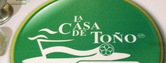 La Casa de Toño is one of Buena comida!.