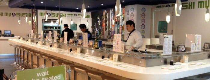 MySushi Conveyor is one of Sushi Milano.