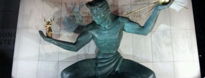 The Spirit of Detroit by Marshall Fredericks is one of Detroit #4sqCities.