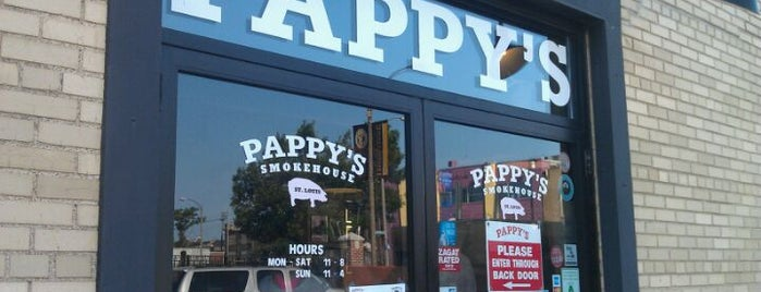 Pappy's Smokehouse is one of St. Louis.