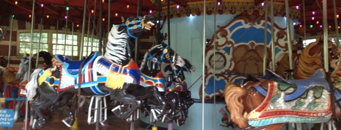 Central Park Carousel is one of Experience Central Park on The Mark Bikes.