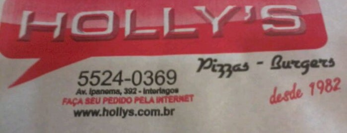 Hollys Pizzaria is one of Já estive.