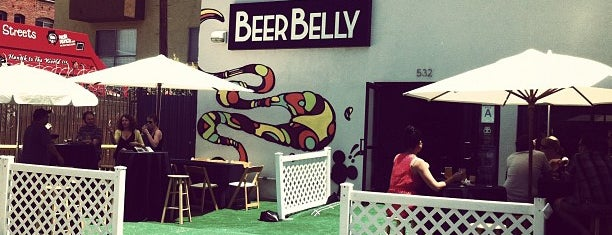 Beer Belly is one of Claire's top 100 LA bars and restaurants.