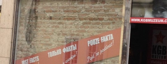 KGB Muzeum is one of StorefrontSticker #4sqCities: Prague.