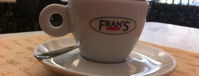 Fran's Café is one of Veja Comer & Beber ABC - 2012/2013 - Comidinhas.