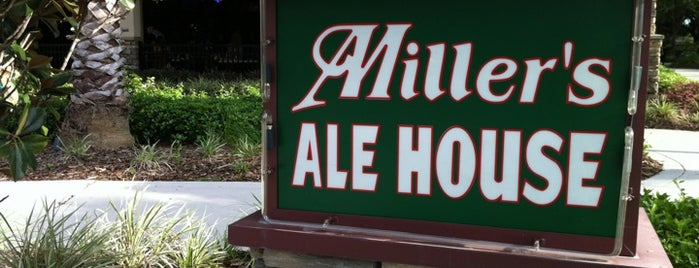 Miller's Ale House - Orlando I - Drive is one of สถานที่ที่ Adam ถูกใจ.