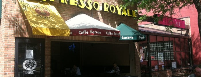 Espresso Royale is one of Favorite Restaurants.