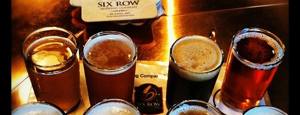 Six Row Brewing Company is one of Kevin'in Kaydettiği Mekanlar.