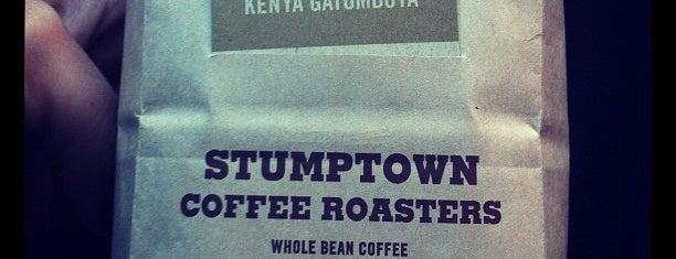 Stumptown Coffee Roasters is one of Brooklyn.