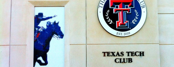 The Texas Tech Club is one of Orte, die Al gefallen.