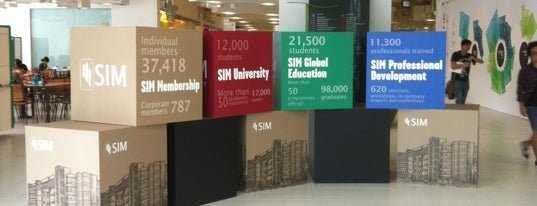 Singapore University of Social Sciences (SUSS) is one of le 4sq with Donald :].